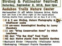 Fall Native Plant Sale, Birding and Pollinator Festival
