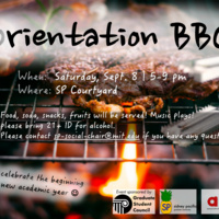 Sidney-Pacific Orientation BBQ
