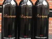 2010-2011-2012 Columbia Valley Cab Sauv Vertical Tasting @ Barons Winery