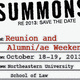 NUSL Reunion and Alumni/ae Weekend