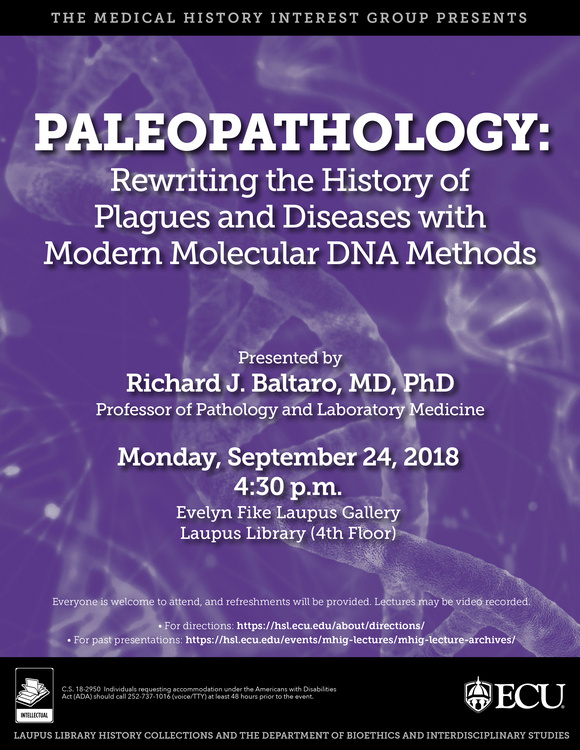 Paleopathology: Rewriting the History of Plagues and Diseases with Modern Molecular DNA Methods