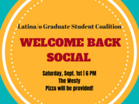 LGSC Welcome Back Social