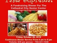 Pasta Suprema! A Fundraising Dinner for the CC Senior Center