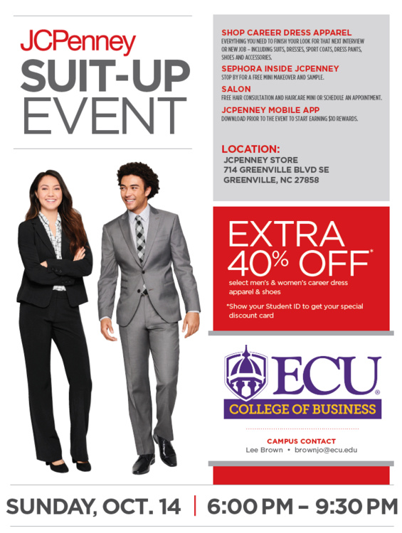 JC Penny Suit-Up Event Fall 2018