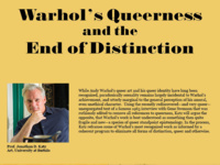 Warhol's Queerness and the End of Distinction