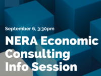 NERA Economic Consulting Information Session
