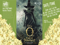 Movie Showing: Oz The Great and Powerful
