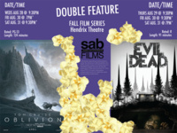 Movie Showing: Oblivion/Evil Dead Double Feature