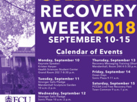 ECU Recovery Week Stronger Sails Day