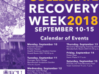 ECU Recovery Week Recovery Messaging Training