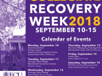 ECU Recovery Week Recovery Down Days with Dog