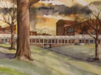 Near and Far: Recent Watercolors by James Barker, FAIA Artist Talk and Reception