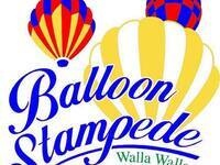 44th Annual Balloon Stampede: Balloon Inflation & Flight Media Day @ Howard Tietan Park