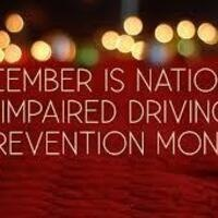 National Impaired Driving Month