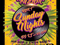 Fuzion Sunday Night Party! DJ LF & Host Ron T! No Cover!