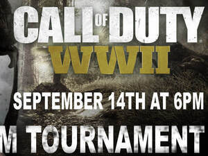 Call of Duty WWII Tournament