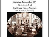 Pioneer Fall Festival @ The Bruce House Museum