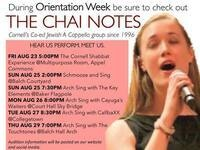 Orientation Week with The Chai Notes