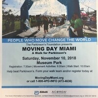 Moving Day Miami: A walk for Parkinson's