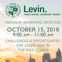Challenges & Opportunities for Cleveland in the 2020 Census