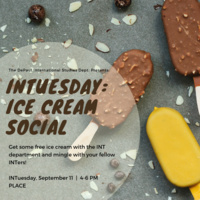 INT Tuesday Ice Creeam Social