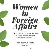 Women in Foreign Affairs Info Session
