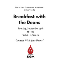 Breakfast with the Deans