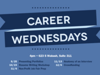 Career Wednesdays: Crowdfunding