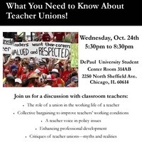 COE Fall Forum: What You Need to Know About Teacher Unions