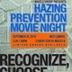 Hazing Prevention Movie NIght
