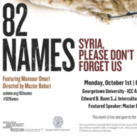 Film Screening- 82 Names: Syria, Please Don't Forget Us