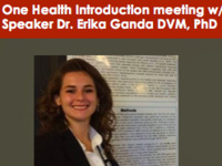 Veterinary One Health Association Introduction Meeting