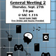 Introverts' Social Club General Meeting 2