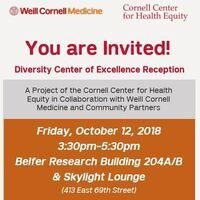 Diversity Center of Excellence Reception