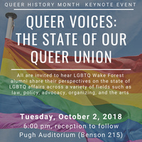 Queer Voices: The State of our Queer Union