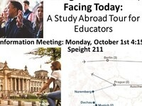 Facing the Holocaust, Facing Today: A Study Abroad Tour for Educators