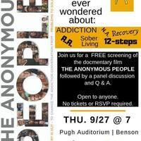 The Anonymous People Screening