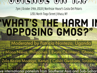 """Science on Tap: """"What's the harm in opposing GMO's"""""""
