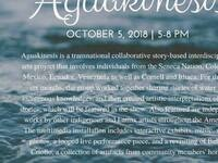 AGUAKINESIS exhibit: Latinx and Indigenous Ties to Water