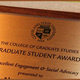 Graduate Student Awards Deadline
