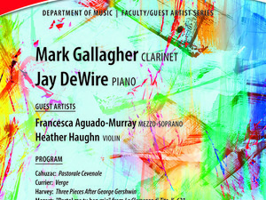 Mark Gallagher, clarinet - Faculty-Guest Artist Recital