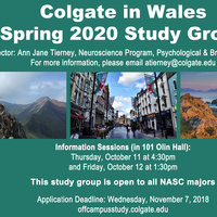 Wales Study Group Spring 2020 Info Session