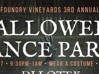 Halloween Dance Party @ Foundry Vineyards