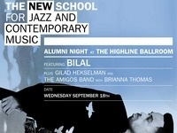 New School Jazz Alumni Concert featuring BILAL + Gilad Hekselman & The Amigos Band w/Brianna Thomas