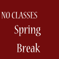 Spring break (no classes)