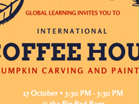 International Coffee Hour with Pumpkin Carving and Painting
