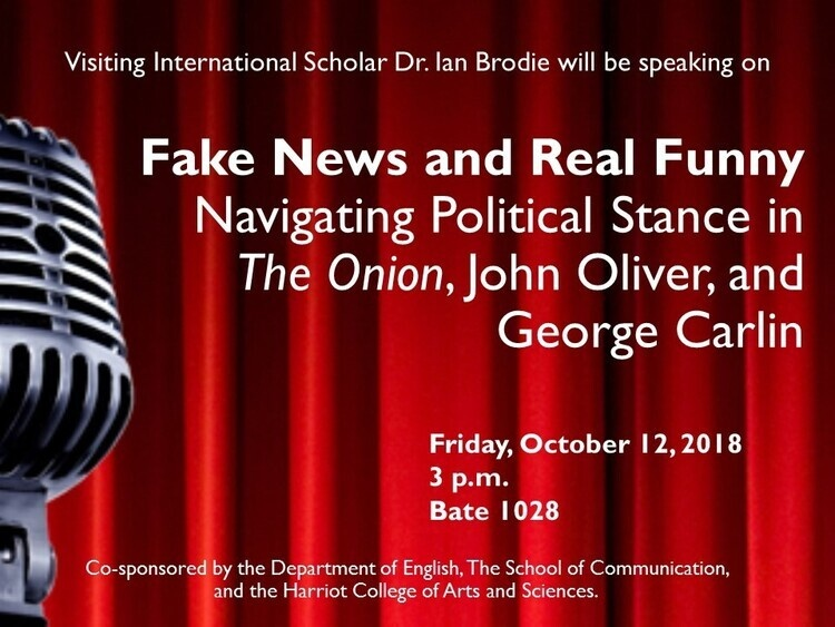 """Fake News and Real Funny: Navigating Political Stance in The Onion, John Oliver, and George Carlin"""