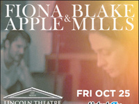 WTMD Welcomes Fiona Apple & Blake Mills at Lincoln Theatre