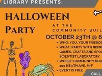Little Goblins' Night Halloween Party @ Community Building of Milton-Freewater