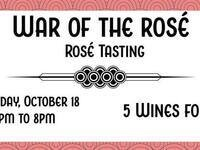 War of the Rosé @ The Thief Fine Wine & Beer
